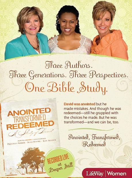 Priscilla Shirer - Anointed, Transformed, Redeemed A Study ...